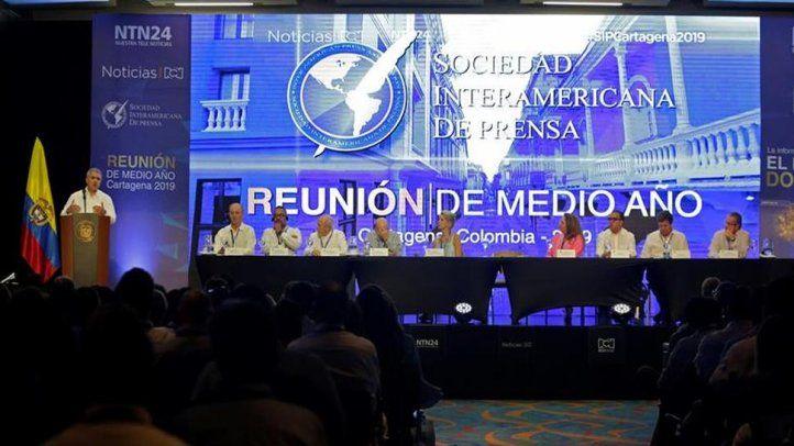 Conclusiones de la Reunión de Medio Año de la SIP en Cartagena