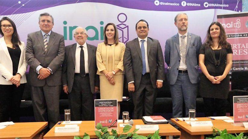 Presentan en México libro La Libertad De Expresión, de Sergio  García Ramírez, Alejandra Gonza y Eréndira Ramos Vázquez
