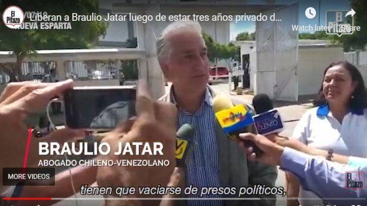 Periodista Braulio Jatar en libertad limitada y condicionada