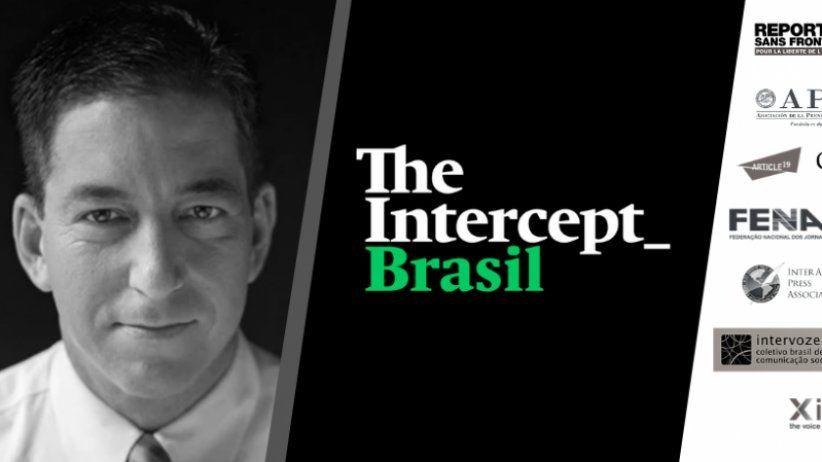 Llamamiento internacional a favor de la libertad de prensa en Brasil tras los ataques a periodistas de The Intercept