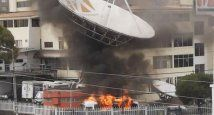 Ecuador quema canal