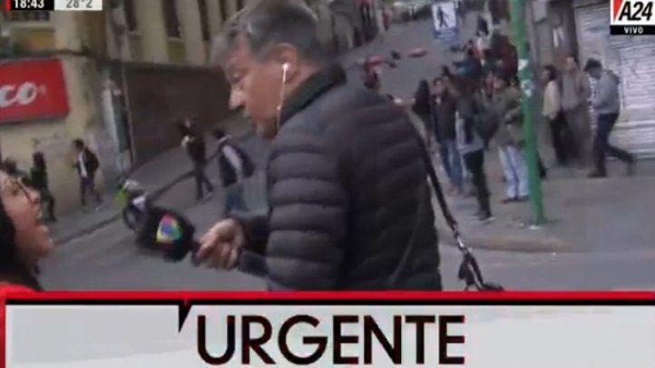 La SIP condena agresiones contra periodistas extranjeros en Bolivia