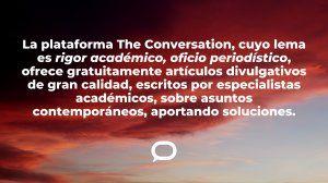 The Conversation ofrece a los socios de la SIP un servicio gratuito de notas de autores prestigiosos