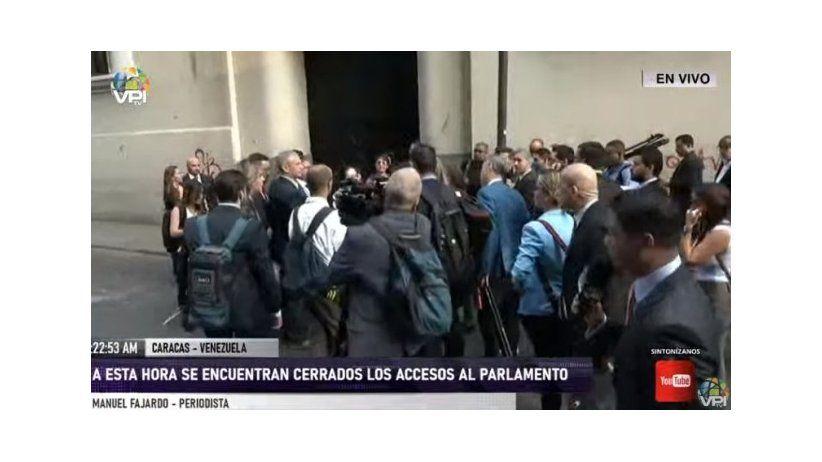 La SIP condena censura contra periodistas en Venezuela