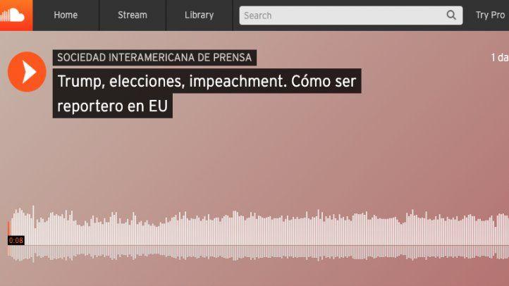 Nuevo podcast de la SIP sobre los retos para el periodismo hispano en EE.UU.