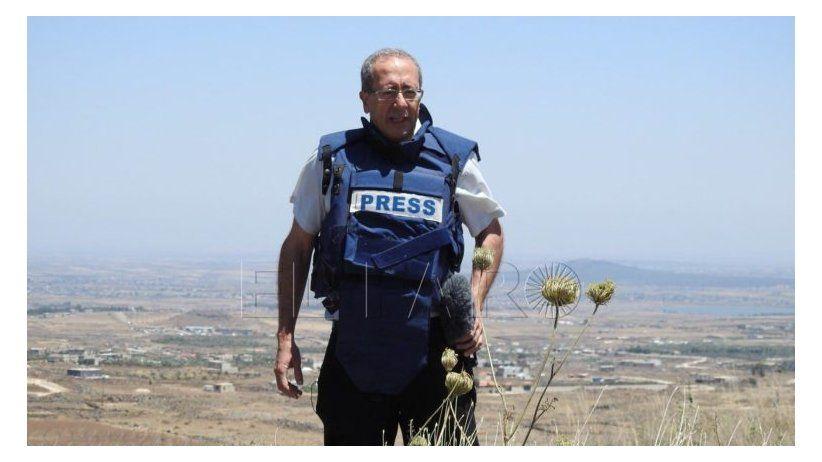 Enrique Acevedo de Univision en homenaje a los 30 años de carrera de José Levy