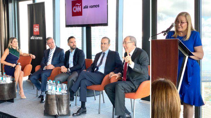 Prensa hispana de EE.UU. realizó acto de unidad y aprecio a corresponsal de CNN en Español