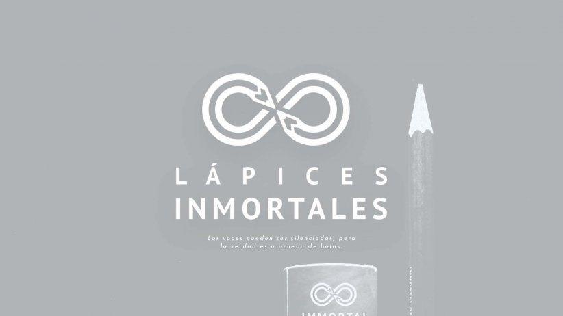 Lápices Inmortales: Campaña masiva contra  la impunidad con ADN de tres periodistas