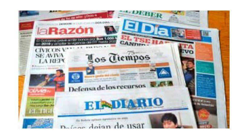 Preocupación de la SIP por fragilidad de los periódicos bolivianos