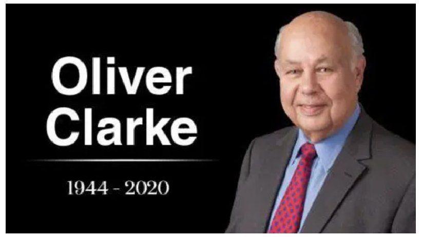 Falleció Oliver Clarke