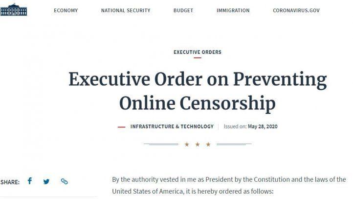 La SIP rechaza orden ejecutiva del presidente Trump