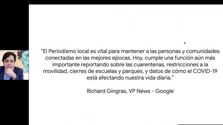 Iniciativas de Google a favor de la labor periodística durante la pandemia