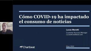 Experto de Chartbeat analiza el consumo de noticias en Latinoamérica