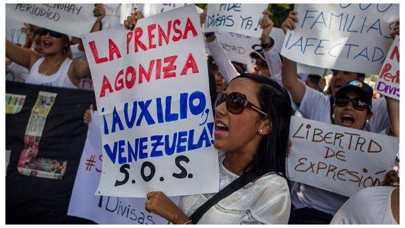 Crisis en Venezuela golpea fuerte a medios de comunicación