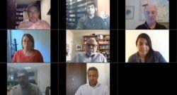 Académicos y periodistas de CLAEP en SipConnect2020