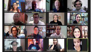 Clausura del primer diplomado SIP-UCAB  sobre libertad de expresión para periodistas
