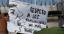 Preocupación de la SIP por incremento de agresiones contra periodistas