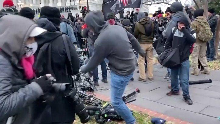 La SIP pide castigo por ataques a periodistas y medios en el Capitolio de EE.UU.