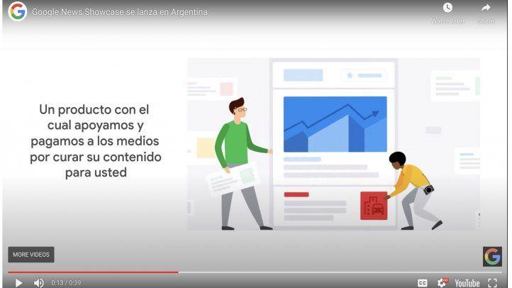 Google lanza News Showcase Argentina junto a un grupo de 40 medios. En Android e iOS.