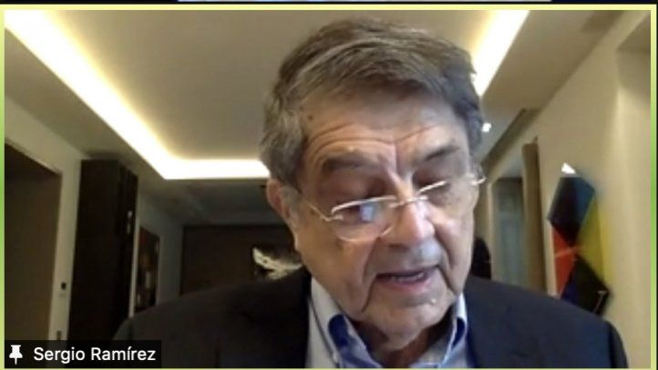 Sergio Ramírez en la SIP: Son las palabras la fiel compañía en la lucha por la democracia