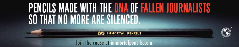 Banner Inmortal Pencils