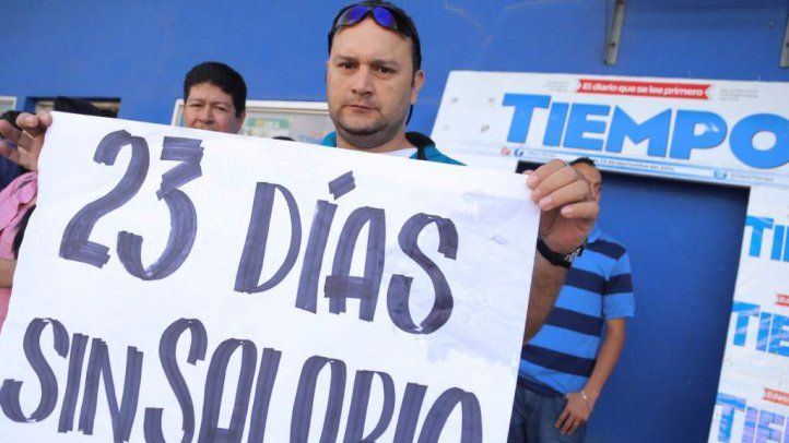 Solidarity with employees of Honduras newspaper Tiempo