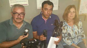 Protest for attack on Cronica TV team in Argentina