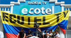 Government persecution of Ecuadorian TV network
