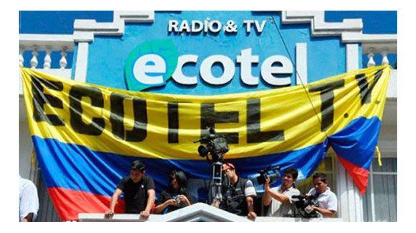 IAPA condemns government persecution of Ecuadorian TV network