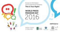 Campaign on May 3 World Press Freedom Day