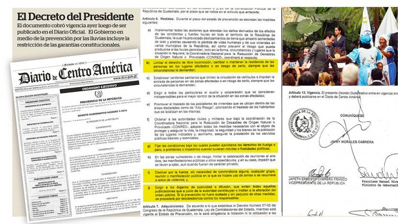 Guatemala: IAPA concerned Guatemalan government decree could restrict free speech