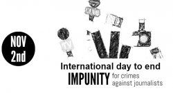 IAPA notes International Day to Put an End to Impunity in Crimes Against Journalists