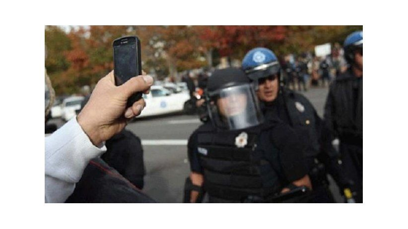 USA: citizens right to film police activity in public places