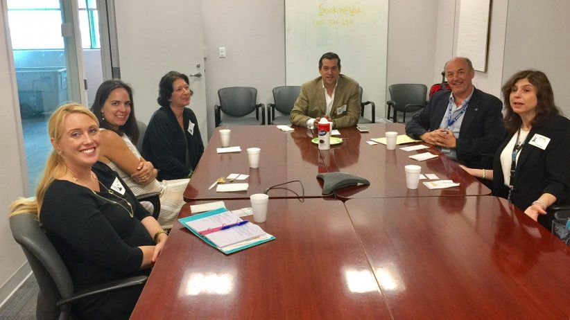 IAPA received officials from the U.S. Department of State