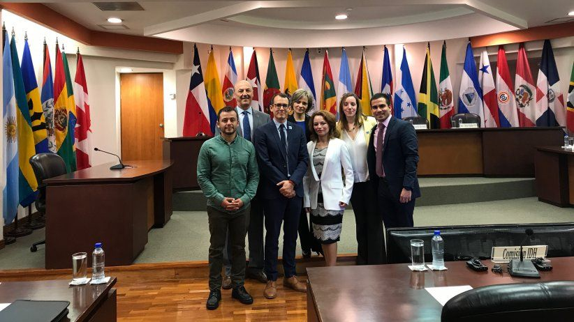 Report of the hearing at the Inter-American Court on the Nelson Carvajal case
