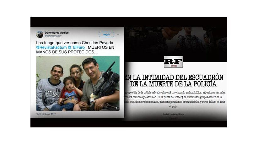 El Salvador: IAPA expresses deep concern at threats against El Salvador digital media journalists