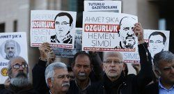 Record number of journalists jailed in 2017