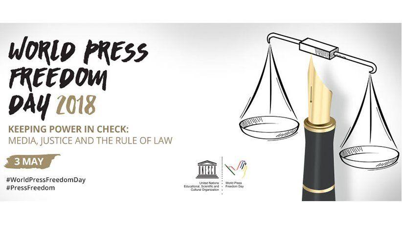 Unesco: May 3 - World Press Freedom Day 2018