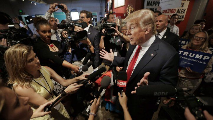 IAPA report: The confrontation between Trump and the press intensifies