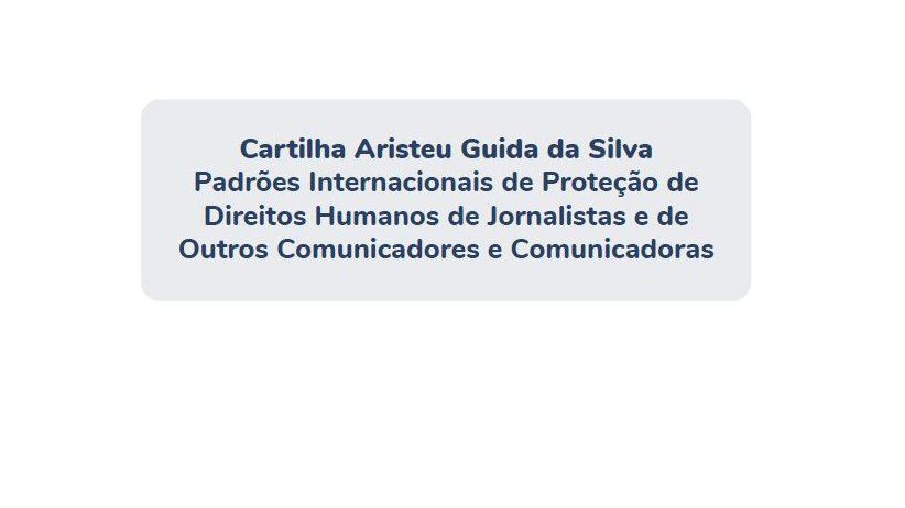 IAPA pleased at document in Brazil on international standards for protection of journalists