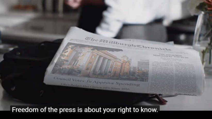 National campaign to protect press freedom in the United States