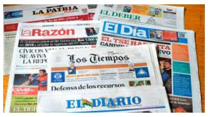 IAPA concerned about the fragility of Bolivian newspapers