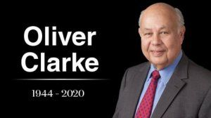 Passing of Oliver Clarke
