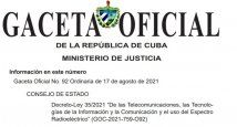 Cuba - Gaceta Ley 35.JPG