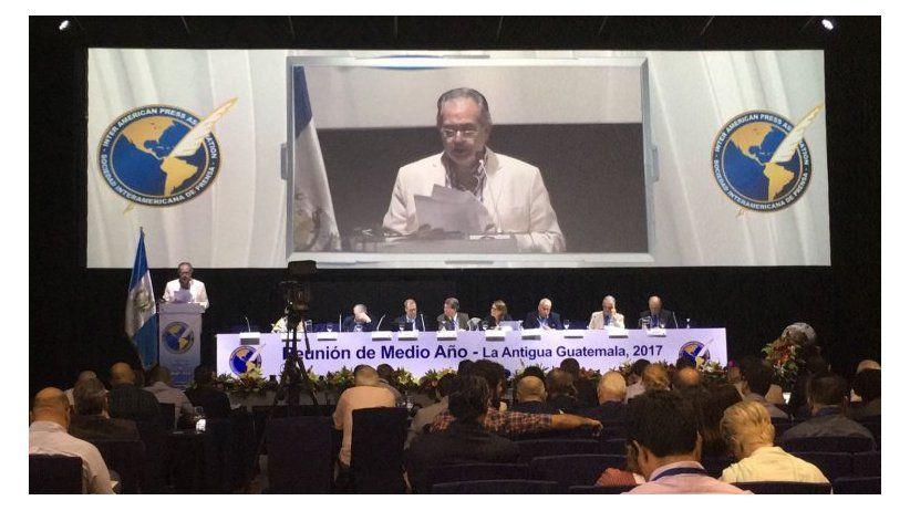 Concluções da Reunião da SIP na Guatemala