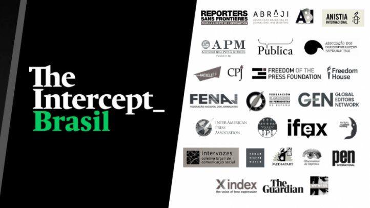 Chamado internacional em apoio aos jornalistas do site The Intercept Brasil